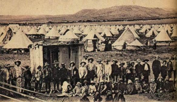 boer war camps