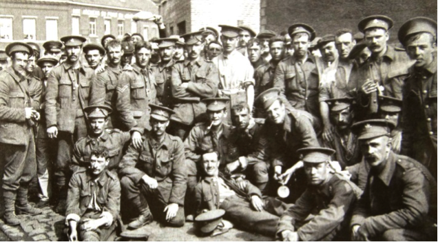 British-soldiers-in-Mons-August-1914